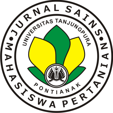 Jurnal Sains Mahasiswa Pertanian