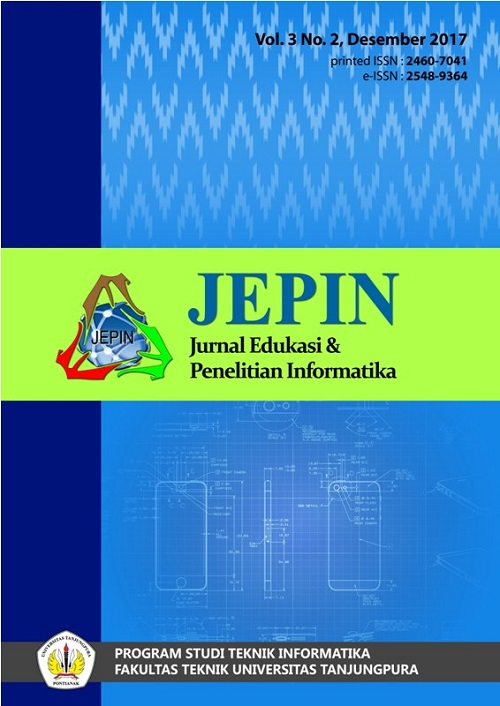 jurnal informatika jepin
