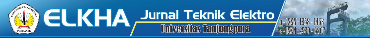 ELKHA: Jurnal Teknik Elektro