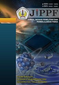 Jurnal Inovasi Penelitian dan Pembelajaran Fisika atau disingkat dengan JIPPF adalah jurnal yang mengulas hasil penelitian atau kajian konseptual di bidang Pendidikan Fisika dan Fisika Terapan. Jurnal ini akan terbit pertama kali pada tahun 2019