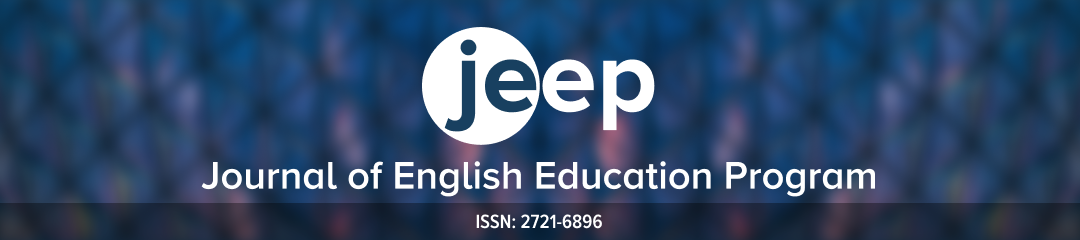 Journal of English Education Program