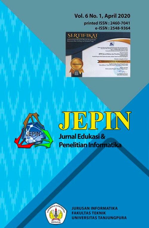 JEPIN vol 6 no 1