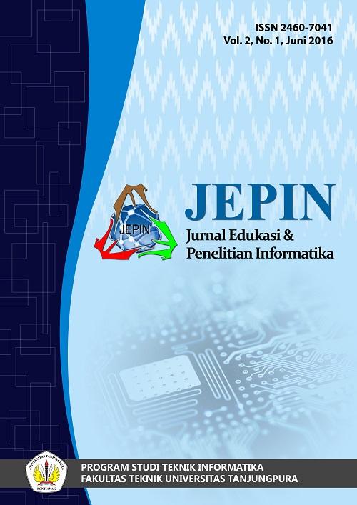 JEPIN vol 2 no 1